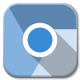 256x256px size png icon of Apps google chromium