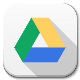 256x256px size png icon of Apps google drive