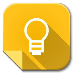 256x256px size png icon of Apps google keep