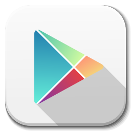 256x256px size png icon of Apps google play