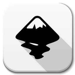 256x256px size png icon of Apps inkscape