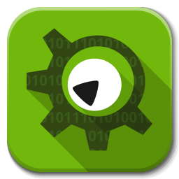 256x256px size png icon of Apps kdevelop