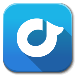 256x256px size png icon of Apps rdio