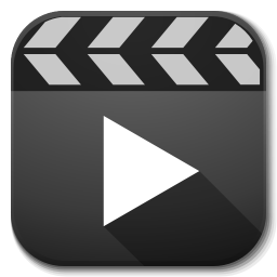 256x256px size png icon of Apps video player
