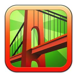 256x256px size png icon of Bridge Constructor
