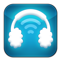 256x256px size png icon of Airphones