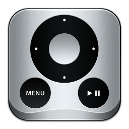 256x256px size png icon of Apple Remote