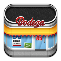 256x256px size png icon of Bodega