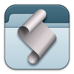 256x256px size png icon of FolderActionsSetup 2