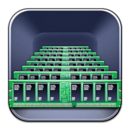 256x256px size png icon of Memory Scope
