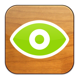 256x256px size png icon of Quick Look Droplet