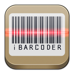 256x256px size png icon of iBarcoder