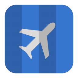 256x256px size png icon of Air Plane