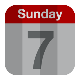 256x256px size png icon of Calendar