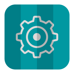 256x256px size png icon of Settings
