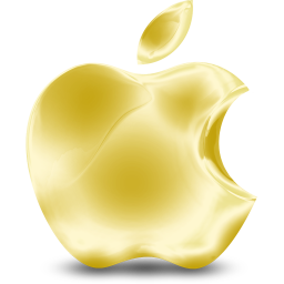 256x256px size png icon of Gold