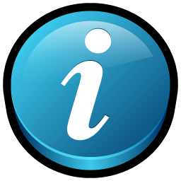 256x256px size png icon of Get Info