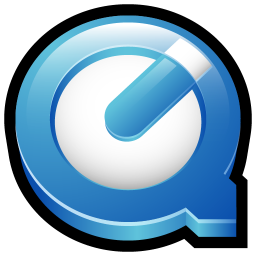 256x256px size png icon of Quicktime Player