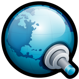 256x256px size png icon of World Connect