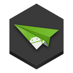 256x256px size png icon of airdroid