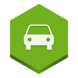 256x256px size png icon of car