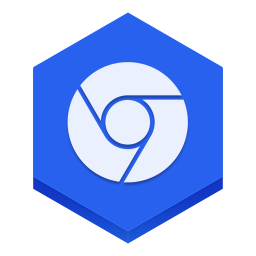 256x256px size png icon of chrome 2