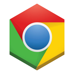 256x256px size png icon of chrome 3