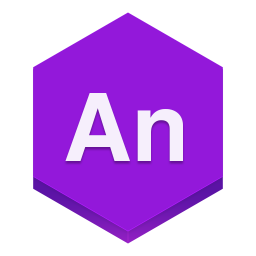 256x256px size png icon of edge animate