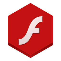 256x256px size png icon of flash