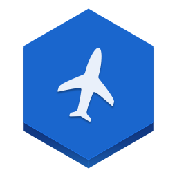 256x256px size png icon of flight