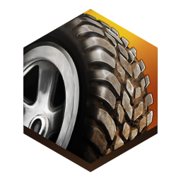 256x256px size png icon of game Reckless Racing 2
