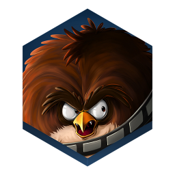 256x256px size png icon of game angry birds star wars