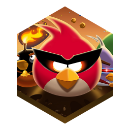 256x256px size png icon of game angry birds. spacepng