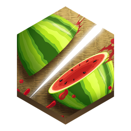 256x256px size png icon of game fruit ninja