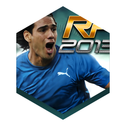 256x256px size png icon of game real football 2013