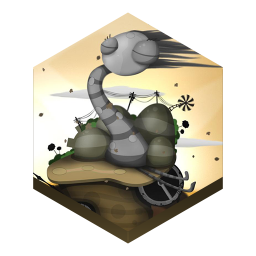 256x256px size png icon of game world of goo