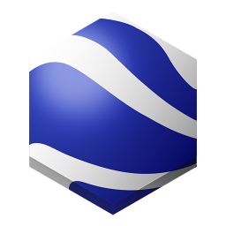 256x256px size png icon of google earth 2