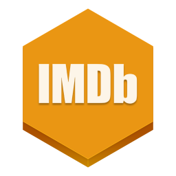 256x256px size png icon of imdb