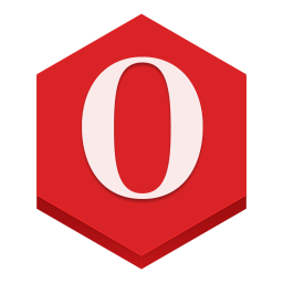 256x256px size png icon of opera