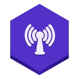256x256px size png icon of radio