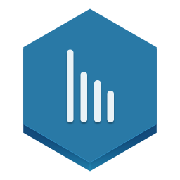 256x256px size png icon of stats