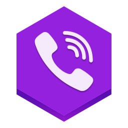 256x256px size png icon of viber