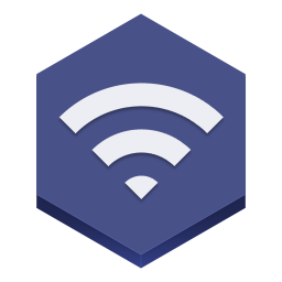 256x256px size png icon of wifi 2