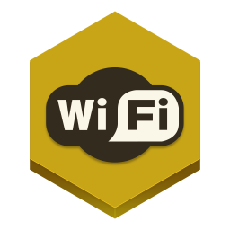 256x256px size png icon of wifi