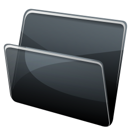256x256px size png icon of Blank Folder