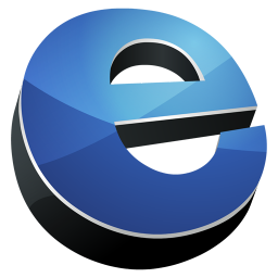 256x256px size png icon of Explorer Blue