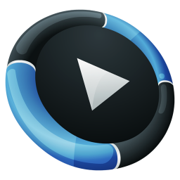 256x256px size png icon of Media Player Inverse