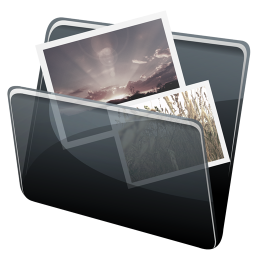 256x256px size png icon of Pictures Folder