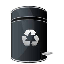 256x256px size png icon of Recycle Empty