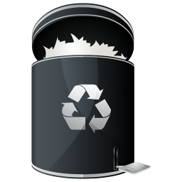 256x256px size png icon of Recycle Full